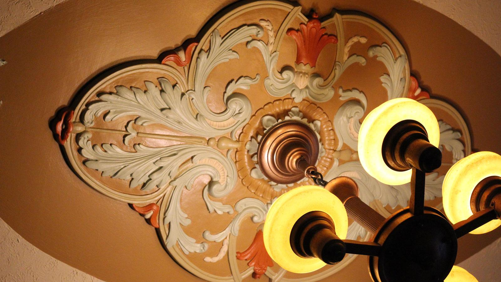 chandelier craftsman house